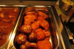 Schnitzel und Bouletten